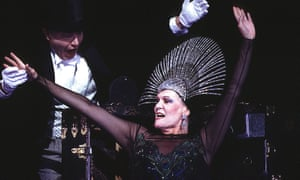 Anja Silja in The Makropulos Case at Glyndebourne in 1995
