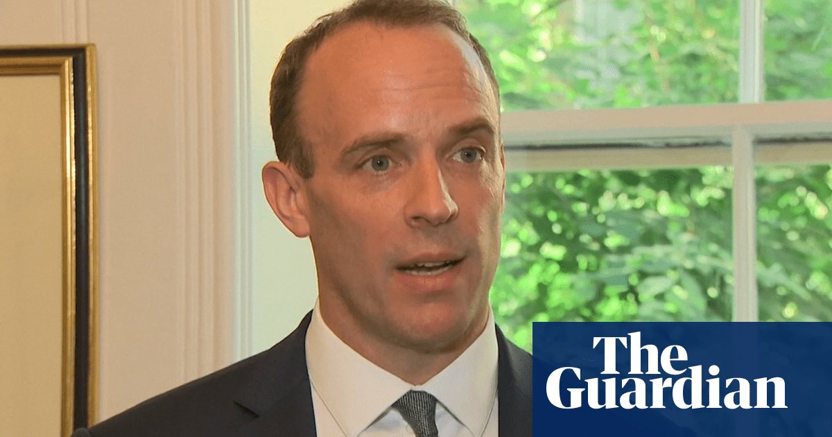 Dominic Raab to step up no-deal Brexit plans –video | Politics | The Guardian