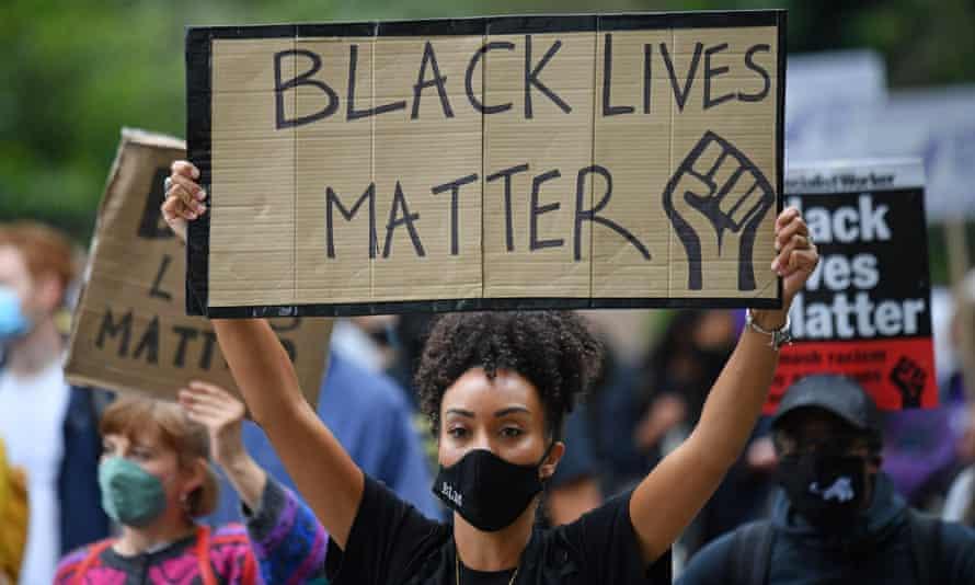 Black Lives Matter protest, London 2020