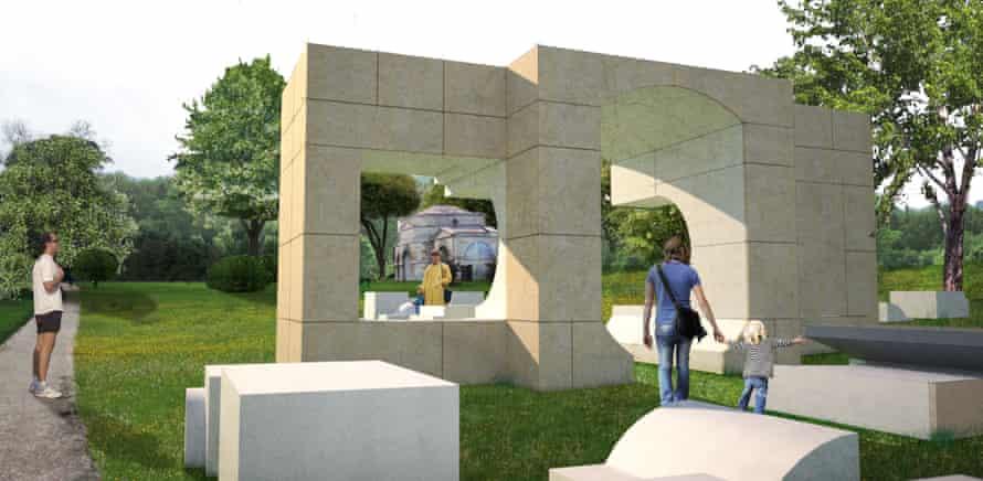 NLÉ's design for a Serpentine summer house.