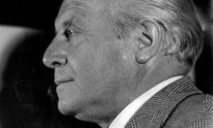 Italian architect and designer Gio Ponti pictured in the 1950s.