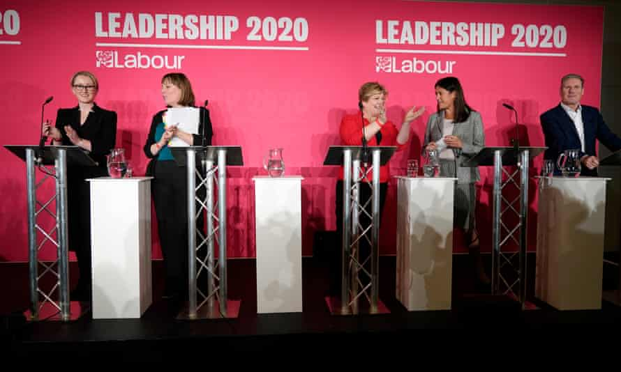The first Labour leadership hustings, in Liverpool on 18 January.