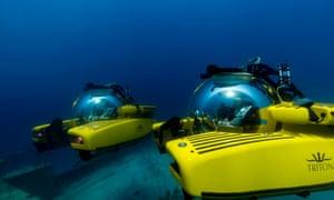 Triton submersibles