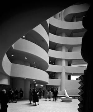 Guggenheim Museum. Frank Lloyd Wright. New York, NY, 1959