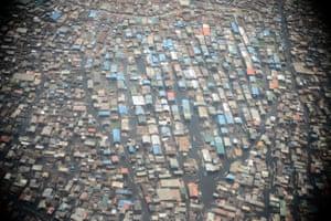 Makoko, in the Yaba area of Lagos