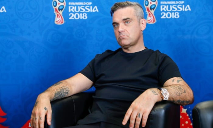8ced19a6d29 Opening ceremony: Robbie Williams sings at 2018 World Cup – as it happened  | Football | The Guardian