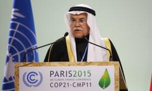 Ali bin Ibrahim Al-Naimi, minister of petroleum and mineral resources, of Saudi Arabia