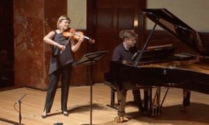 Alina Ibragimova and Kristian Bezuidenhout live at the Wigmore Hall in June, catch up with their performance here