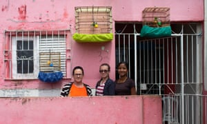 Maria Laurentino, 49, a resident of the Rua da Taba favela in Garanhuns, said: 'Lula left this place with a full stomach.