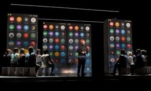 A scene from the opera The (R)evolution of Steve Jobs.
