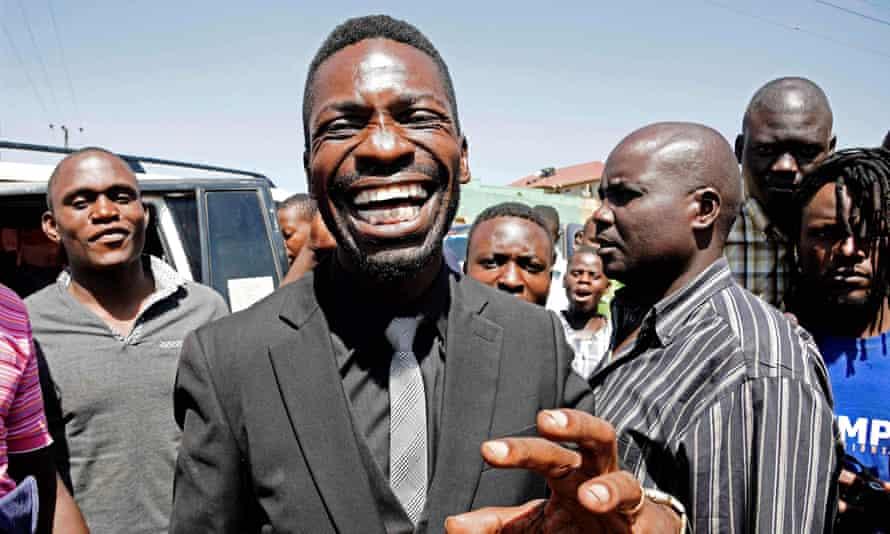 Musician turned politician Robert Kyagulanyi Ssentamu, commonly known as Bobi Wine