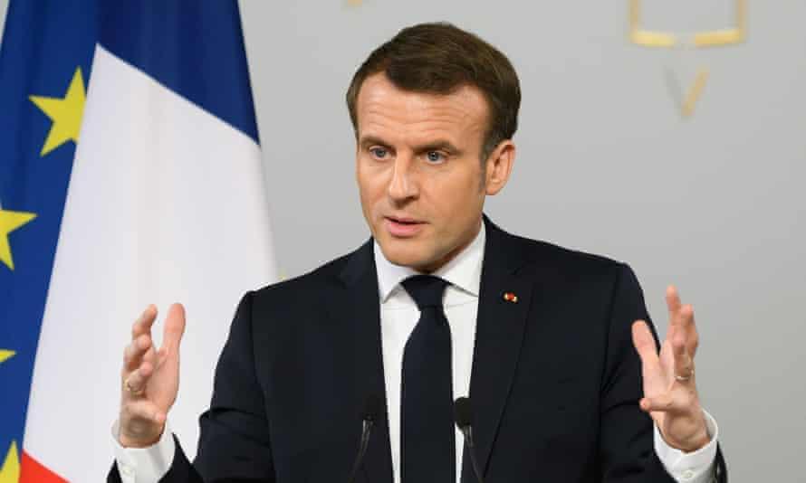 French president, Emmanuel Macron