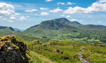 Cadair Idris offers spectacular views of Snowdonia.