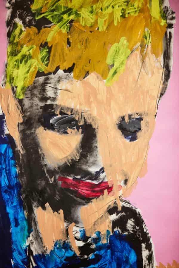 Jack Denness, Self Portrait, 2105. Project Art Works.