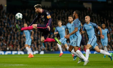 Messi at Manchester City would bring fantasy football to England | Manchester  City | The Guardian