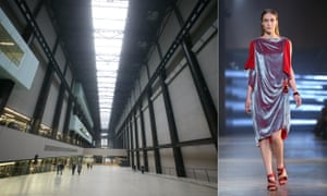 The art of fashion … Christopher Kane in the Tate Modern.
