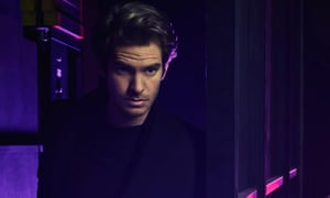 Andrew Garfield as Prior Walter in the latest production of Angels of America at the National Theatre.