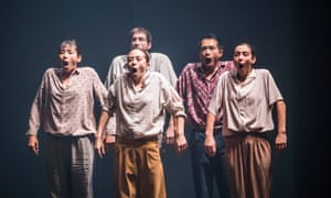 Grand Finale by Hofesh Shechter @ Sadler's Wells.