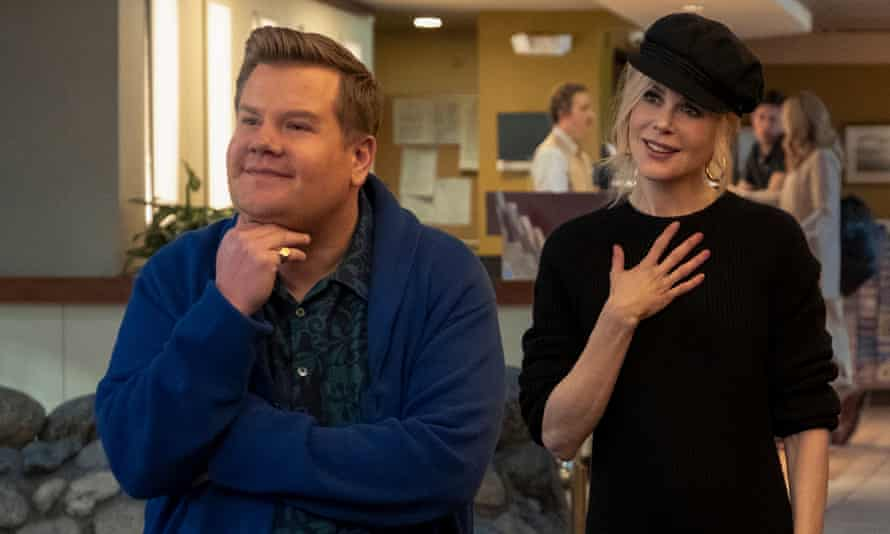 James Corden and Nicole Kidman in The Prom.