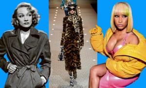 Marlene Dietrich, Dolce & Gabbana and Nicki Minaj