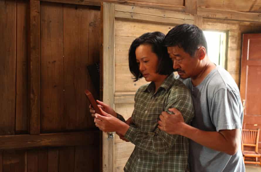 Yong Mei and Wang Jingchun in So Long, My Son.