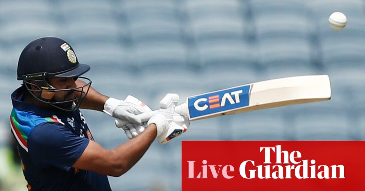 India v England: second one-day international – live!