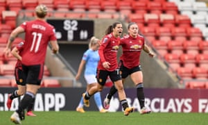 Tobin Heath Kickstarts Comeback As Manchester United Make Point To City Football The Guardian