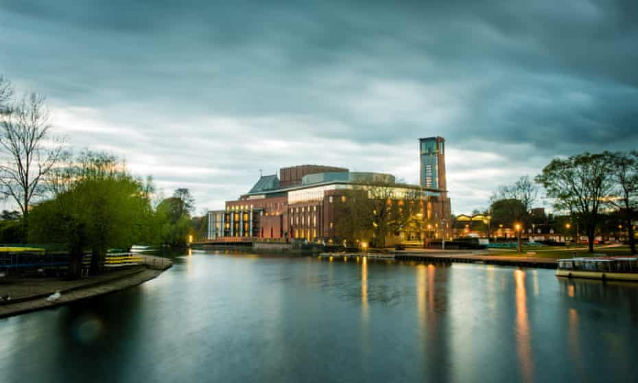 Royal Shakespeare theatre in Stratford-upon-Avon.