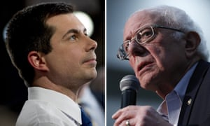 Is the Democratic race now a contest between Pete Buttigieg and Bernie Sanders?