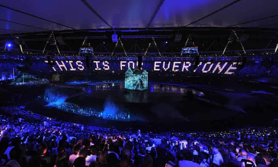 This is for Everyone seen during the opening ceremony of the London Olympics in 2012, a nod to Berners-Lee's creation.