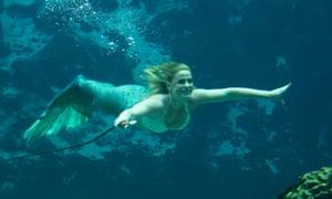 World famous Weeki Wachee mermaids