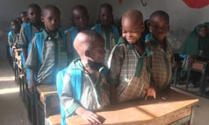 Students at Future Prowess primary school