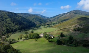 A valley in the Cevennes, France.