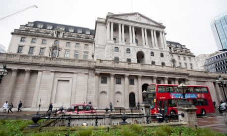 Bank of England expected to leave rates on hold amid Brexit uncertainty – business live