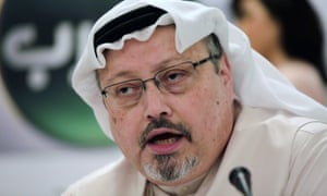 Saudi journalist Jamal Khashoggi was murdered at the Saudi consulate in Istanbul on 2 October 2018.