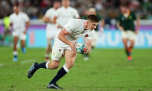 Owen Farrell of England during the Rugby World Cup 2019 final between England and South Africa in Yokohama, Japan