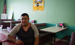 Sebastian Esquivel, 21, previously told the Guardian he chooses not to vote in elections because he doesn't feel it will make a difference in his daily life.