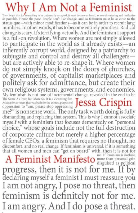 Cover image of Why I Am Not a Feminist by Jessa Crispin