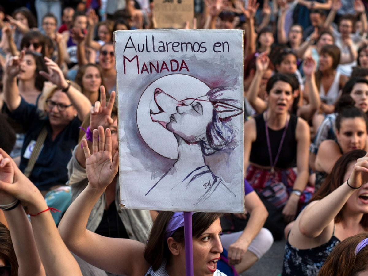 Actor Porno Calvo Español the shocking rape trial that galvanised spain's feminists