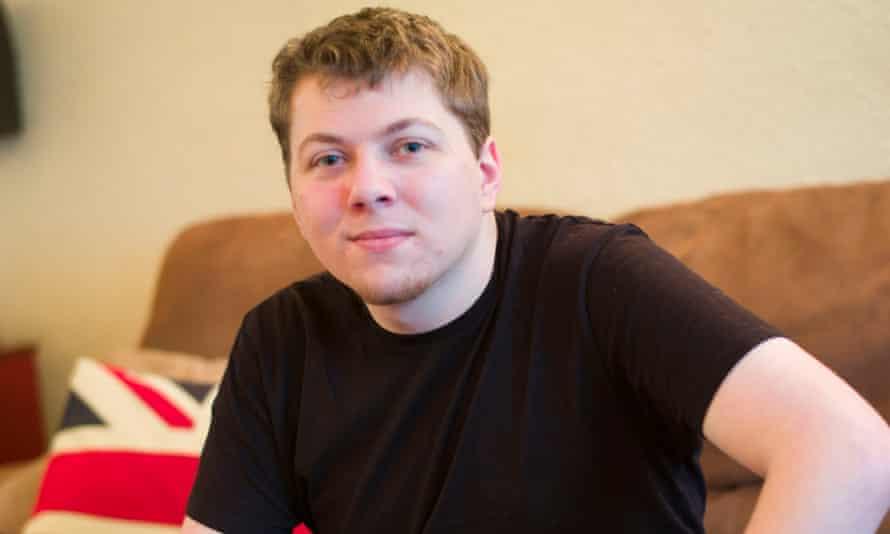 Amazon worker Aaron Callaway
