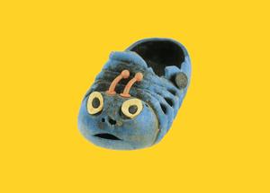 Plastic sandal.