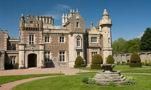 Abbotsford, home of Sir Walter Scott from 1812 to 1832, near Melrose, Borders, Scotland