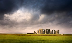 The filming location is more than five miles away from the world heritage site Stonehenge.