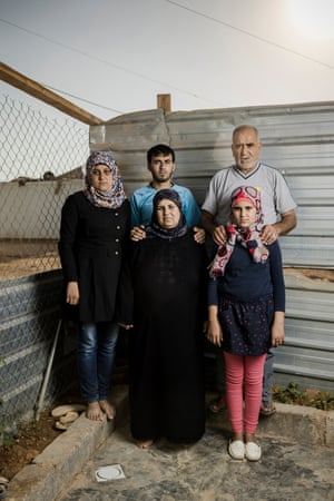 Family in Jordan