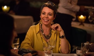 Channeling Gucci: Olivia Colman.