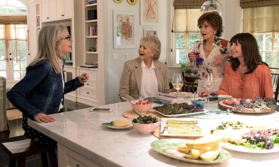 Diane Keaton, Candice Bergen, Jane Fonda and Mary Steenburgen in Book Club.
