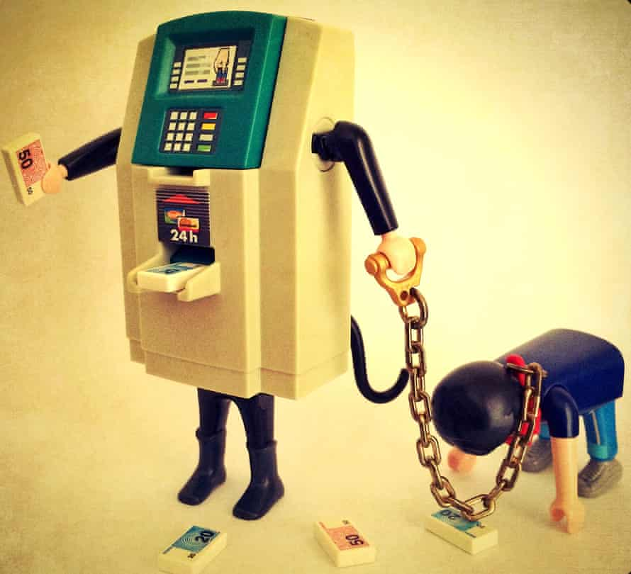 'The bottom line is: be afraid of empty humans instead of empty ATMs'