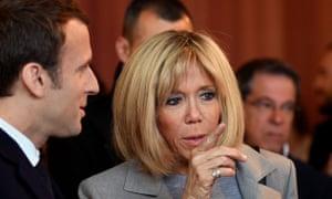 Emmanuel Macron Wedding.Brigitte Macron Ever Present Beside France S Presidential Hopeful