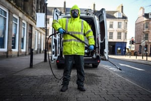 Glasgow, Scotland: Robin Barclay, cleaning contractor