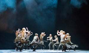 A scene from Dust by Akram Khan from Lest We Forget by English National Ballet, 2014, which also commemorated the first world war.